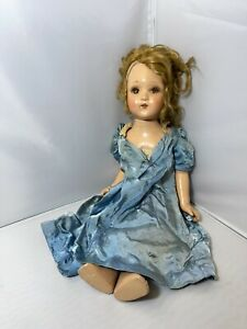 """Vintage Composition Doll For Repair  20"""" Tall Unmarked"""