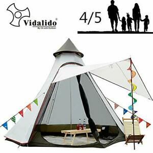 12'x10'x8'Dome Camping Tent 5-6 Person 4 Season Double Layers Waterproof Anti...