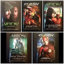 Arrow & Flash • Tv Show Tie-In Novels - Dc - Titan Books - Complete Crossover