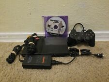 Sony PlayStation 2 PS2 Slim Console w/ Controller & Cables & Game (SCPH-70012)