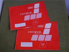 Service Manuals per CRUMAR T3 e Nerve Centre 50