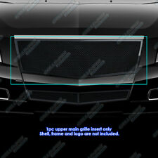 Fits 2008-2013 Cadillac CTS Black Stainless Steel Mesh Grille Grill  Insert