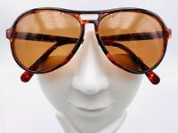 Vintage Brown Tortoise Aviator Sunglasses Japan FRAMES ONLY