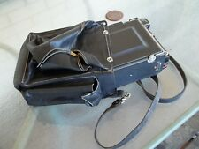 leather carrying case for 4x5 Crown Graphic Toyo Field Wista SP camera