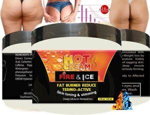 Anti Cellulite Intensive Fat Burning Cream Gel Firm Hot Body Slim Weight Loss 4z