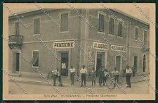 Livorno Rosignano Marittima Solvay cartolina QQ3818