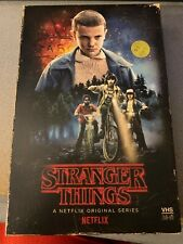 Stranger Things Season One 4-Disc DVD/Blu-Ray Collectors Edition Box Set Used