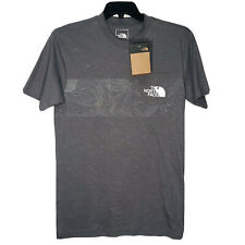 The North Face Topo Inject Men's Small Short Sleeve T-Shirt NEW Gray