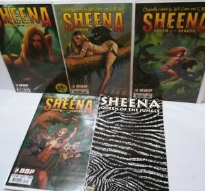 Sheena Queen Of The Jungle 0 2 3 3 Variant DDP Dynamite Comic Book Lot 5 London