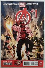 THE AVENGERS #1 - Mark Brooks Deadpool Gangnam Style Variant- NO RESERVE!!