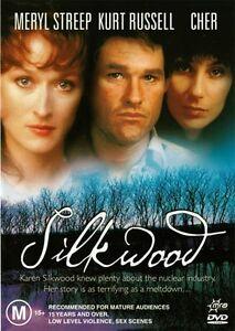 SILKWOOD - MERYL STREEP & KURT RUSSELL - NEW REGION 4 DVD - FREE LOCAL POST