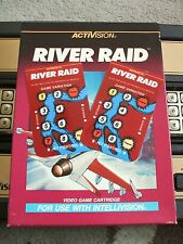 NEW RIVER RAID OVERLAYS FOR INTELLIVISION GAME FLASHBACK REPLACEMENT