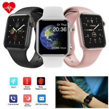 Smart Watch Body Temperature Heart Rate Sport for iPhone LG Samsung S10 S9 S8 +
