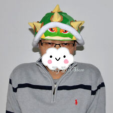 New Super Mario Bros. BOWSER Plush HAT Cap