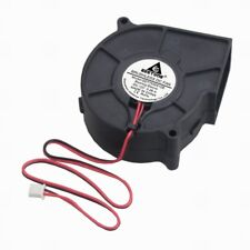 GDT 75mm 12V Brushless DC Blower Cooling Fan 2Pin 75x75x30mm Computer Cooler Fan