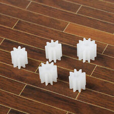 50pcs Spindle gear plastic motor gears 0.5 modulus 2mm aperture 9 tooth