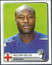 PANINI 1955-2005 CHAMPIONS OF EUROPE- #131-CHELSEA & FRANCE-WILLIAM GALLAS