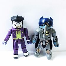 DC C3 Series 1 Minimates Batwing Pilot Batman & Chemical Warehouse Battle Joker