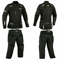 Winter Motorrad Kombi Damen Jacke und Hose Alle Größe verfügber XS bis 2XL.