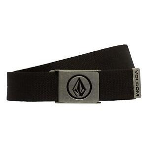 Volcom Circle Web Belt - Black NEW