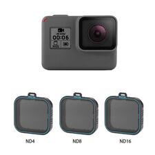 Für TELESIN GoPro Hero 6/5 3er Pack ND Objektivschutzsatz (ND4 ND8 ND16)
