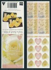 Australia Mnh, 1998 Flora Flowers Roses Self Adh. Booklet x33134