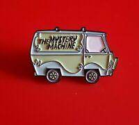 Scooby Doo Mystery Machine Van Pin Enamel Shaggy Metal Brooch Badge Lapel