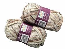 200 gr Schalwolle, Häkel-und Strickwolle, Wolle , Paket 2 er, meliert