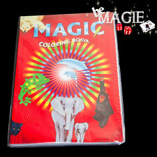 Livre de coloriage magique - petit format  -  Magic coloring book Small