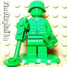 M731 Lego Toy Story Green Army Men Minifig w/ Metal Detector Binoculars 7595 NEW