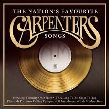 THE CARPENTERS THE NATION'S FAVOURITE CARPENTERS SONGS CD (2016)