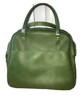 Vtg American Tourist Escot Avocado Green Large Travel Carry On Soft Luggage Bag