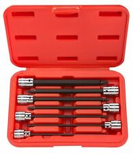 TEKTON 1352 3/8-Inch Drive Extra Long Star Bit Socket Set, T10 - T40, 7-Piece