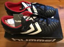 New Size 10.5UK Hummel Tomasson Leather Football  Boots Retro Vintage Old School