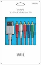 NEW Nintendo JAPAN Official AV Audiovisual Component cable for Wii RVL-011 :186