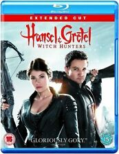 Hansel & Gretel: Witch Hunters - Extended Cut [Blu-ray] [Region Free], DVDs