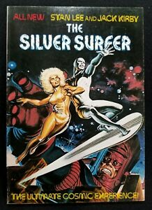 Silver Surfer The Ultimate Cosmic Experience: Stan Lee Jack Kirby 1978 1st Print