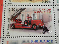 FRANCE 2003, timbre 3611, VEHICULE, CAMION POMPIERS, neuf**, CARS, VF MNH