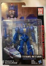 Transformers Generations Titans Return Deluxe Class Scourge & Fracas MISB
