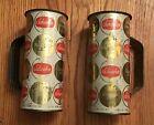 Schaefer Steinie Beer Bottle & Tin Mugs
