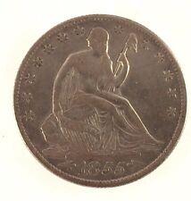 1855-O Seated Liberty Half Dollar w/ Arrows - XF Condition