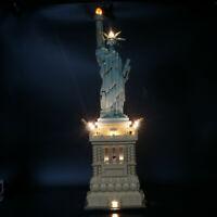 led light kit Light Set For LEGO 21042 Statue of Liberty lighting Building Block