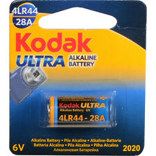 New Kodak Ultra 28A 4LR44 6V Alkaline Button Battery EXP 2020 for CANON AE1 etc