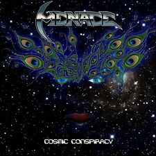 MENACE - Cosmic Conspiracy / New CD 2014 / Thrash Metal Greece
