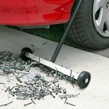 """Magnetic Sweeper 14.5"""" Push Nail Screw Metal Picker Roller Sweep Floor Shop Tool"""