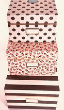 Kate Spade New York Nesting Boxes Set of 3 BONUS GIFTS INCLUDED!!!