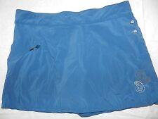 WOMENS blue hiking beach SKORT shorts under skirt = TIMBERLAND = MEDIUM = ss22
