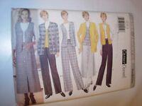 WOMENS UNCUT BUTTERICK Sewing Pattern 4584 SKIRT JACKET PANTS VEST SIZE 14 16 18