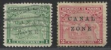 Canal Zone Possession Stamp #9 and #10