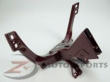 Ducati 848 1098 1198 Upper Fairing Cowl Stay Mounting Bracket Carbon Fiber Red